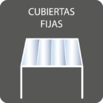 cubiertas fijas