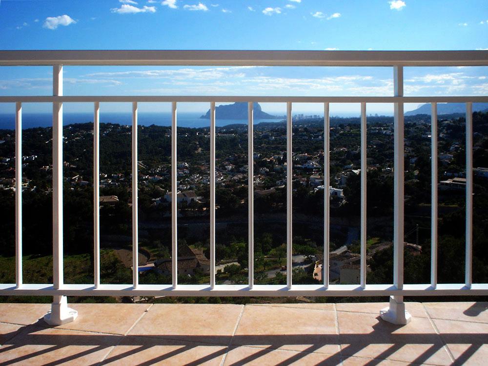 Barandillas de aluminio hechas para su hogar - Barandilla de aluminio ...