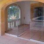 Detalle de puerta intermedia y corredera