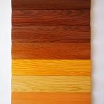 Colors de lama d'alumini imitació fusta