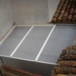 Coberta fixa de policarbonat