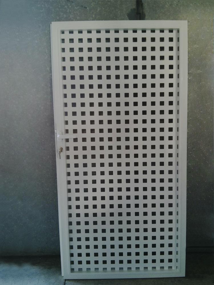 Puertas peatonales de hierro personalizadas - Chapa de hierro ...