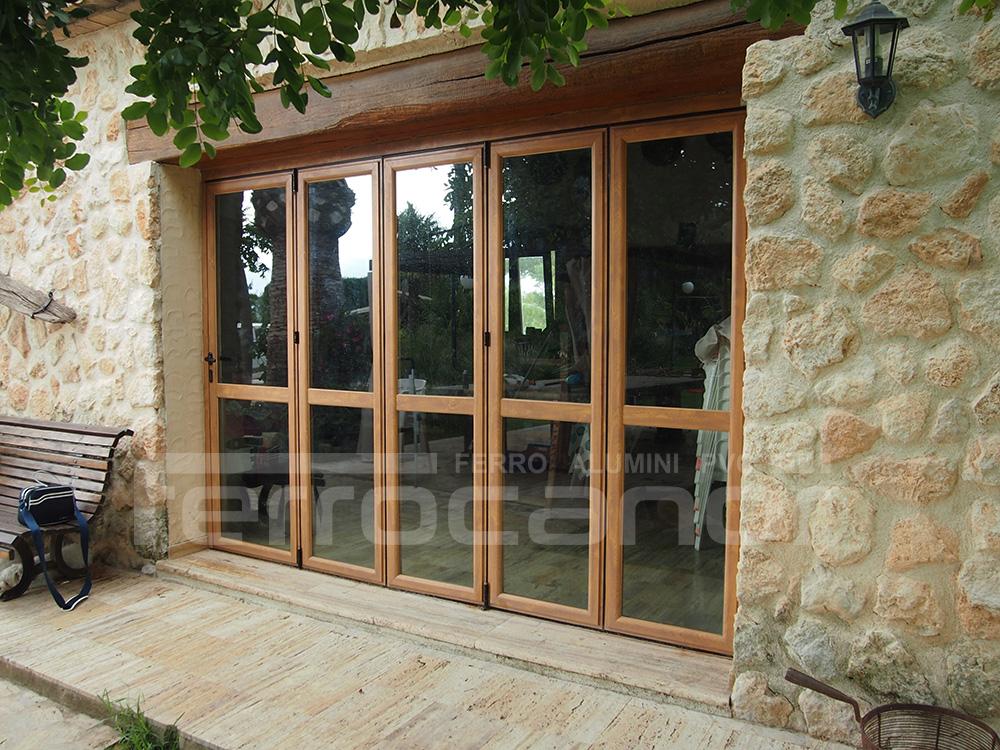Ventanas y puertas plegables de alta calidad - Puertas plegables aluminio ...