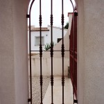 portes peatonals de ferro