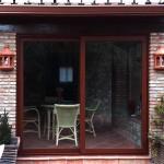 Porta corredissa color imitació fusta