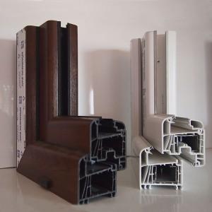 Detall sistemes de PVC Kömmerling