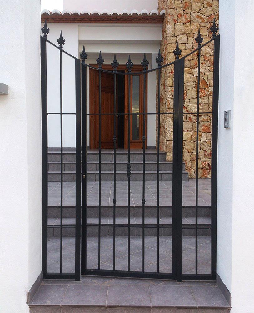 Puertas cancelas de hierro simple stunning interesting - Cancelas de hierro ...
