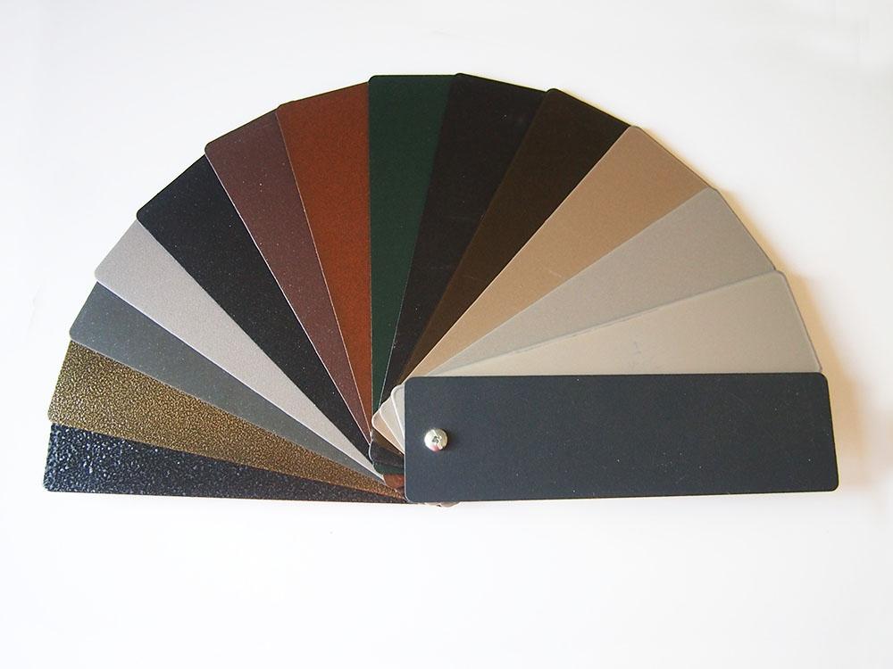 Acabados de hierro aluminio y pvc for Colores de aluminio para ventanas