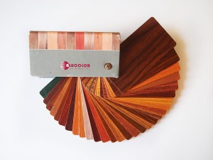 Colores aluminio imitación madera