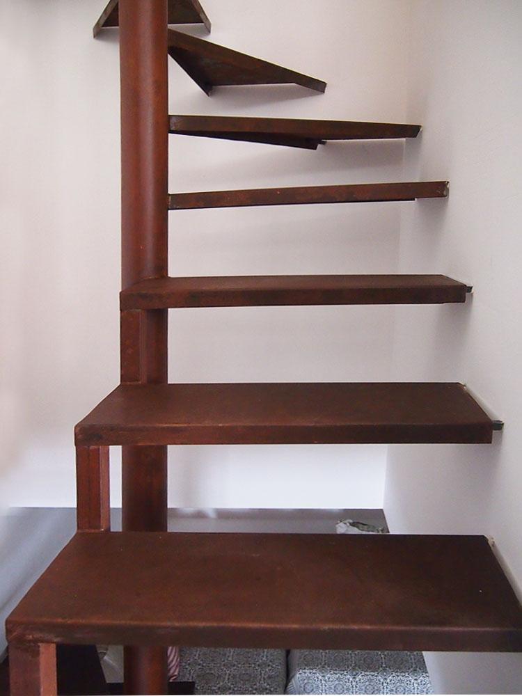 Escaleras de hierro precios as por ejemplo como puede for Escalera exterior de acero galvanizado precio