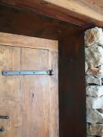 Chapas para portón de madera