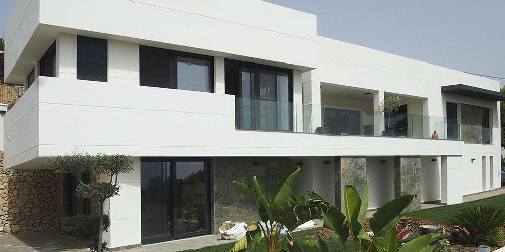 Reforma integral casa moderna en Benissa