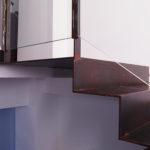 Escalera con chapa de hierro 10mm