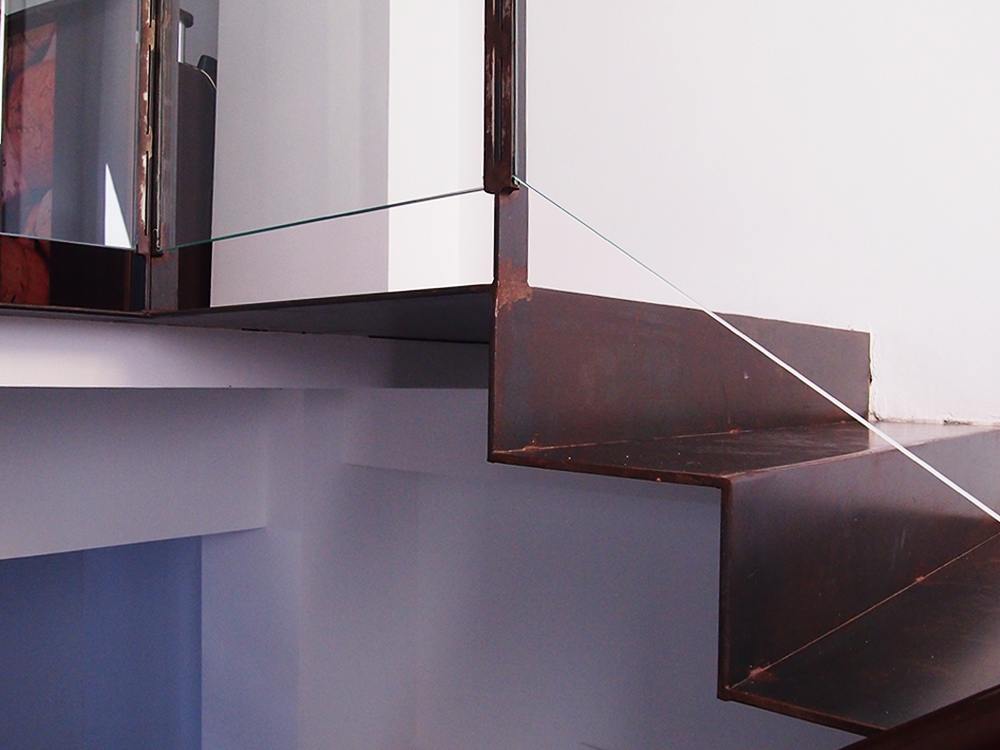 Escaleras personalizadas - Chapa de hierro ...